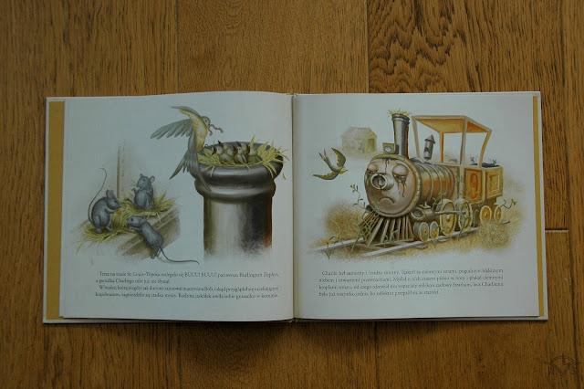 książka dla dzieci o pociągach bajka z mrocznej wieży stephena kinga