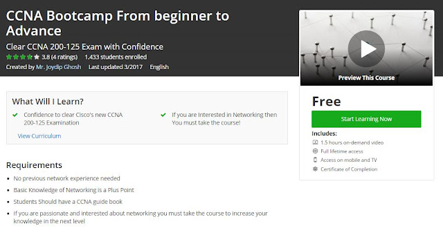CCNA-Bootcamp-From-beginner-to-Advance