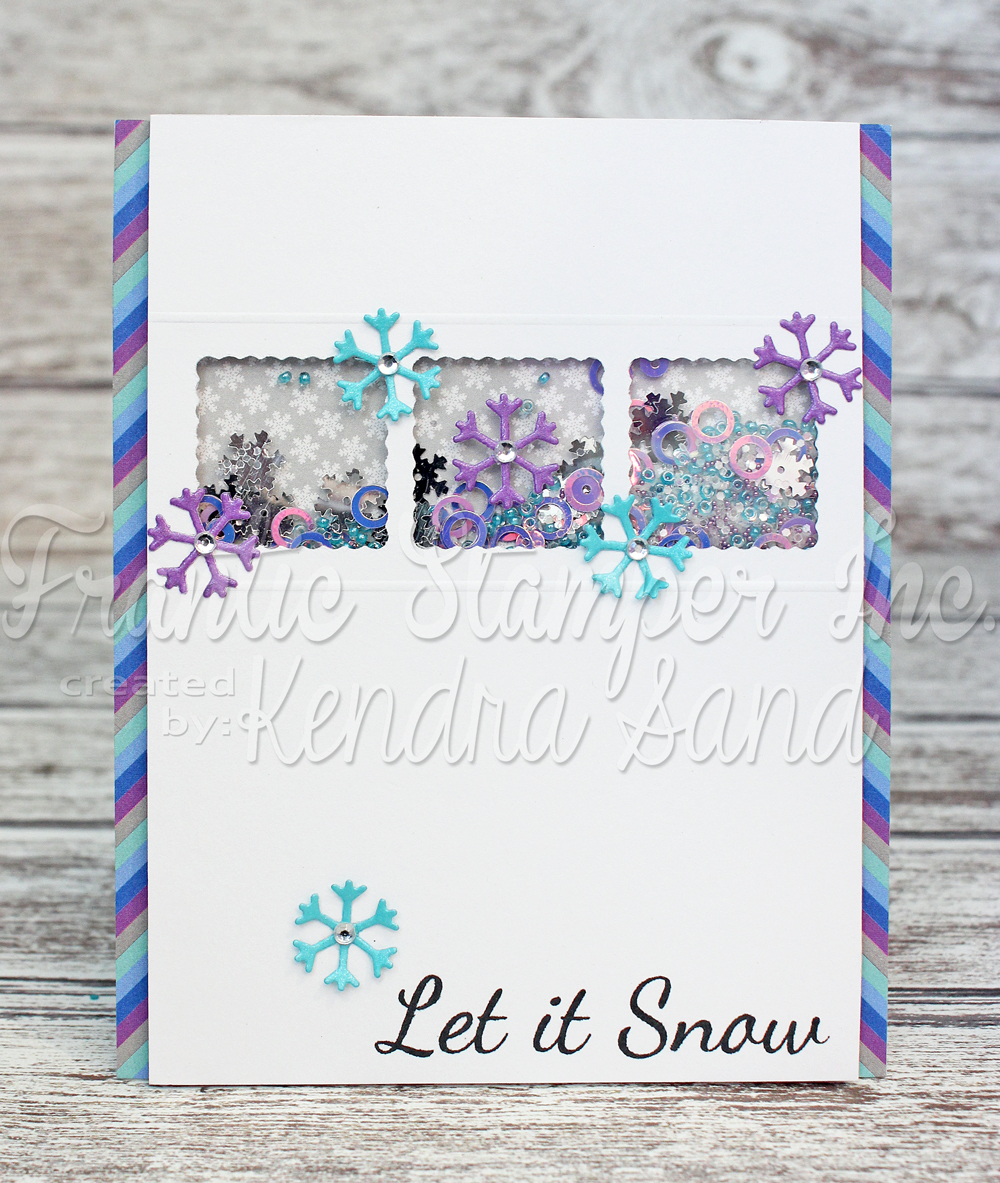 Luv 2 Scrap N Make Cards Snowflakes