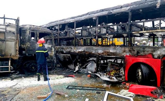 Tai nạn thảm khốc Nhiều thi thể cháy đen