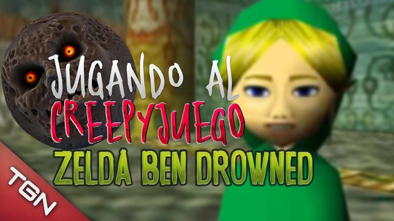 Jugando al Juego de Zelda Ben Drowned Majoras Mask