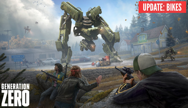 Generation Zero Bikes PC Game Download