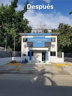 Inauguran  nuevo destacamento Policial en Tamayo