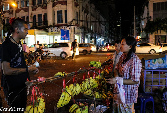 The Punks of Yangon shop for food to offer to homeless
