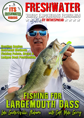 largemouth bass fishing video in the spread mike gerry