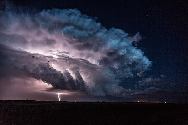 Lightning over Nebraska