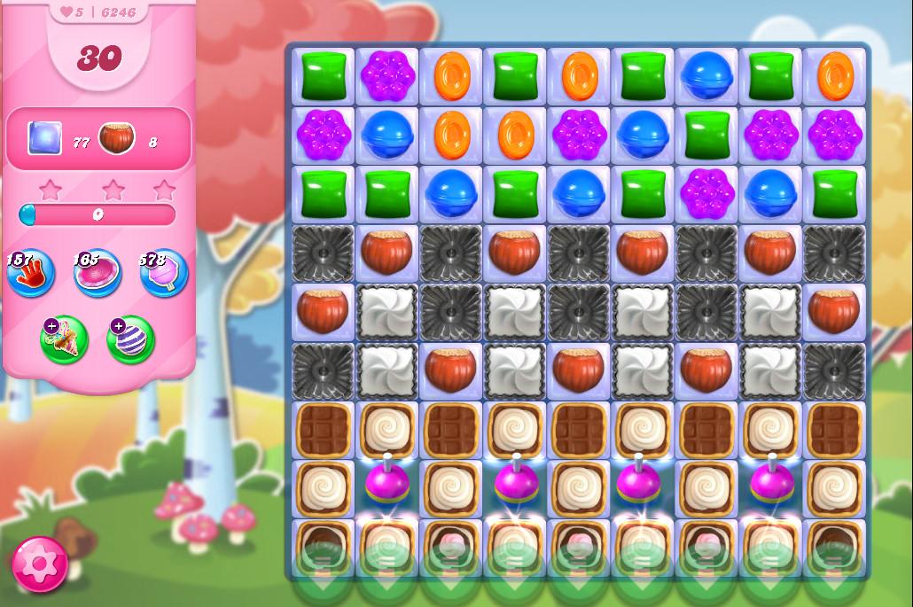 Candy Crush Saga level 6246