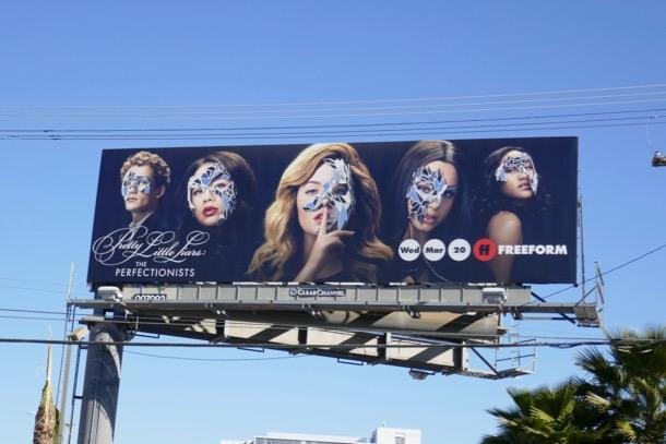 Pretty Little Liars Perfectionists billboard