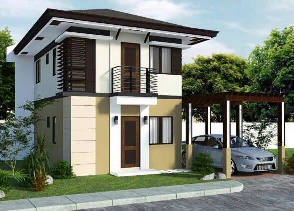 New home designs latest modern small homes exterior for Exterior house design for small spaces