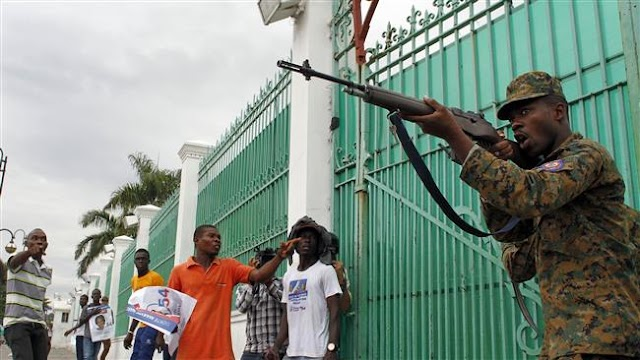 Haiti tense as both parties claim presidential win