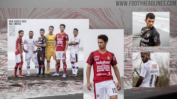 Bali United 2020 Home Away Third Kits Released Footy Headlines
