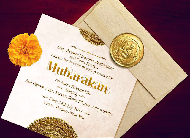 Mubarakan , Mubarakan FIrst Look , Mubarakan Poster, Mubarakan Arjun Kapoor, Mubarakan Anil Kapoor