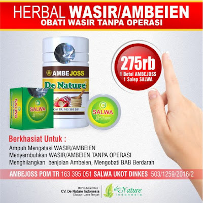 OBAT WASIR TANPA OPERASI - Informasi Cara Mengobati Wasir Dengan Obat Herbal