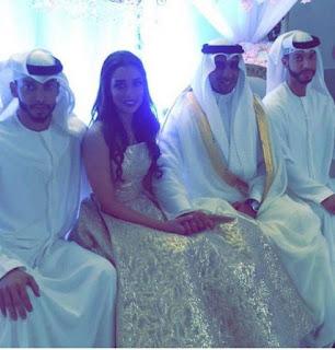 بالصور : عقد قران الفنانه بلقيس فتحي علي رجل الاعمال السعودي سلطان