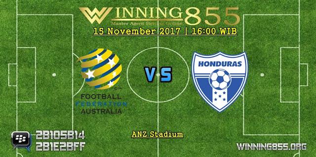 Prediksi Akurat Australia vs Honduras 15 November 2017