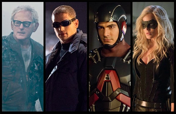 Personajes Spin off de Arrow y The Flash al estilo 'The Brave and the Bold'