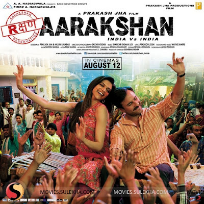 Aarakshan 2011 Hindi Movie 720p HDRip 1.3GB ESub Download