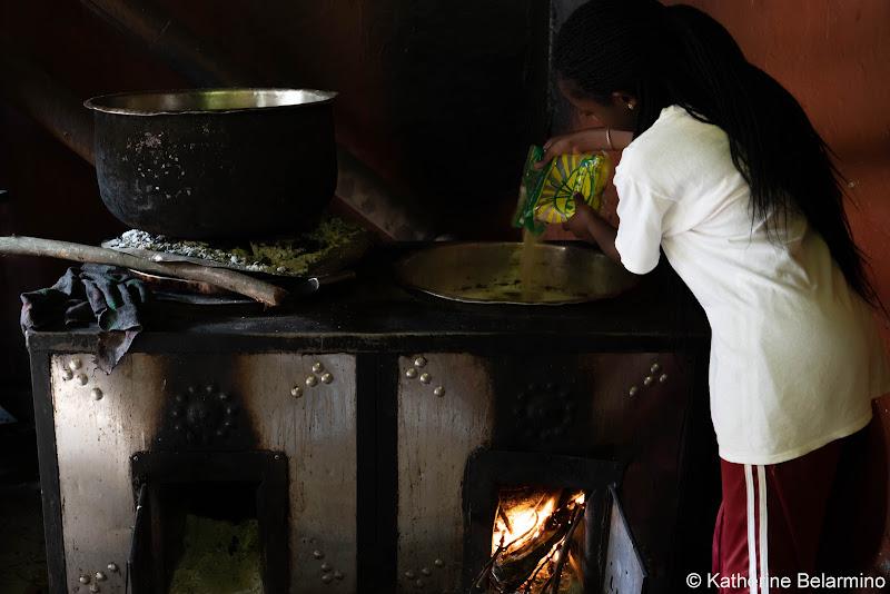 Making Chai Volunteering in Kenya with Freedom Global