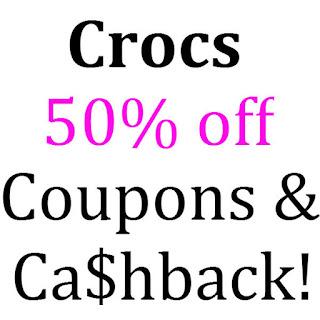 Crocs Cashback, Discounts & Promo Codes 2016