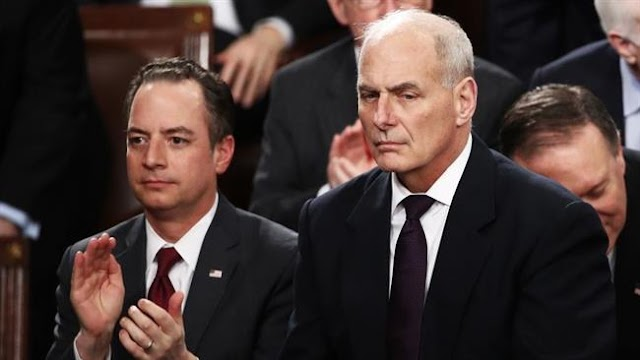 US President Donald Trump fires Reince Priebus, names John Kelly as new White House chief of staff