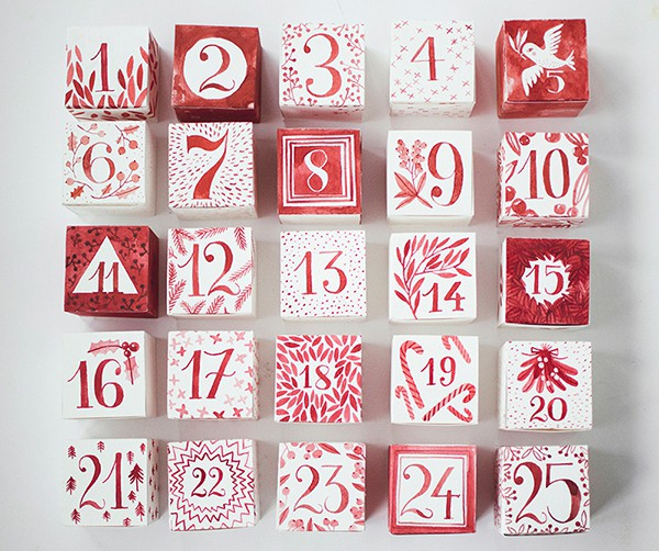 Advent Calendar Diy Template : Musings of an average mom christmas advent calendar