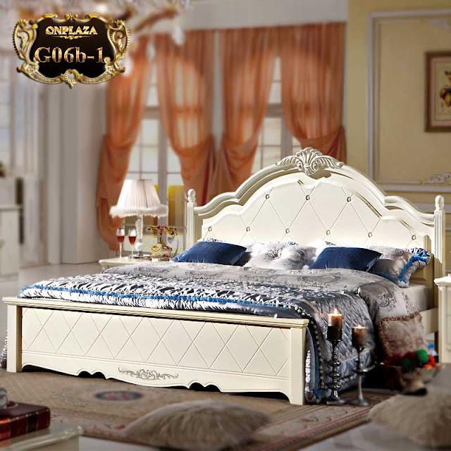 Giường ngủ phong cách tân cổ điển G06b-1