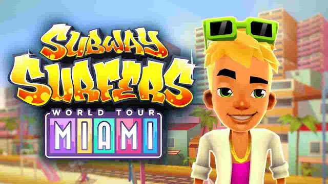 Download Subway Surfers Miami Apk v1.11.0 (Unlimited Coins + Key + Characters)