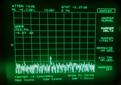 14.294 MHz taajuuudella kuuluva häiriö