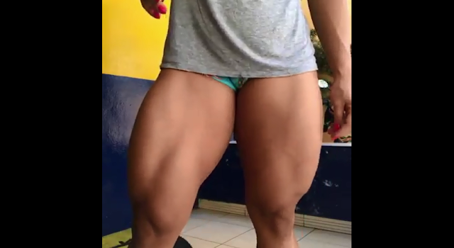 Clip The Women bodybuilders Female Body Builders posing