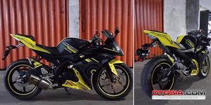 Vixion Modifikasi Lebih Sporty Dibanding Yamaha R15