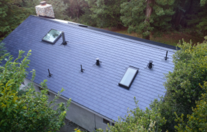 Tesla begins its first solar roof installation