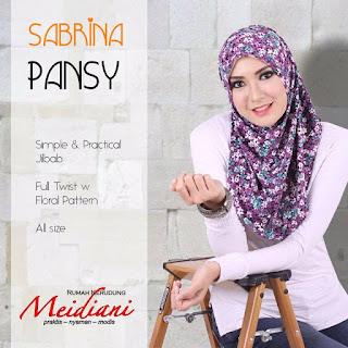 Jilbab Sporty Sabrina Pansy