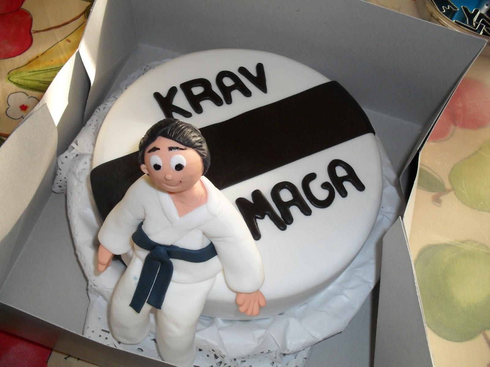 Krav Maga Cake Design