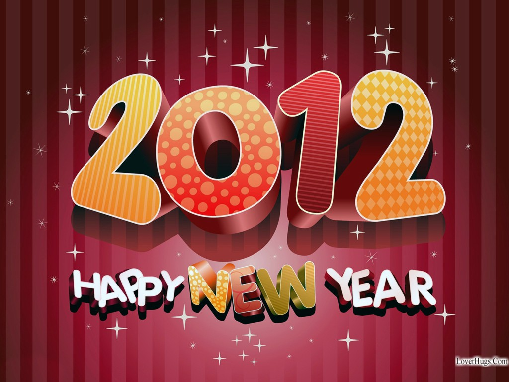 Happy New Year 2012 Wallpapers HD. 1024 x 768.Happy New Years Gift Cards