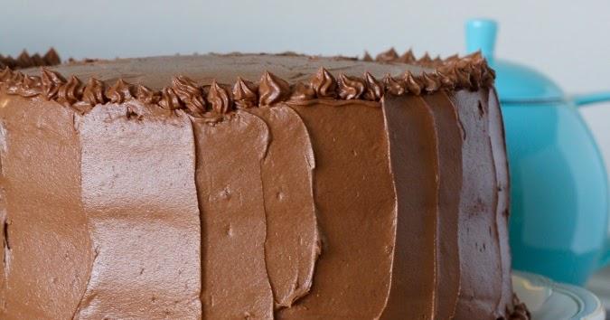 Espresso Chiffon Cake with Chocolate Buttercream Frosting ...