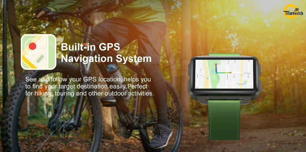 GPS Android 5.1 SmartWatch Fiteness Tracker