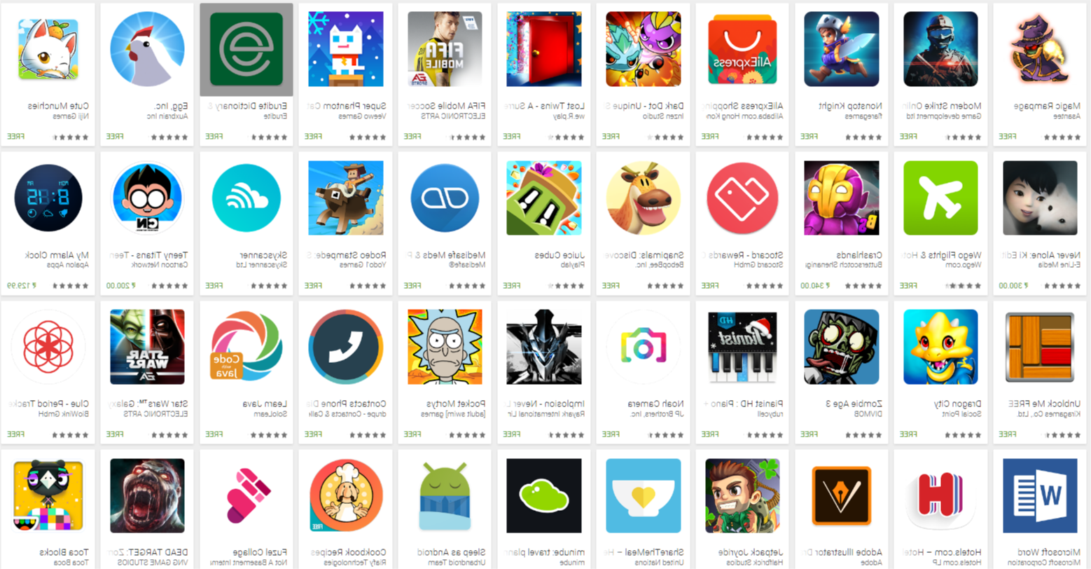 new  android apps 2017