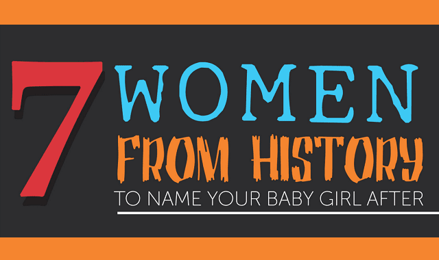 7 Women From History To Name Your Baby Girl After