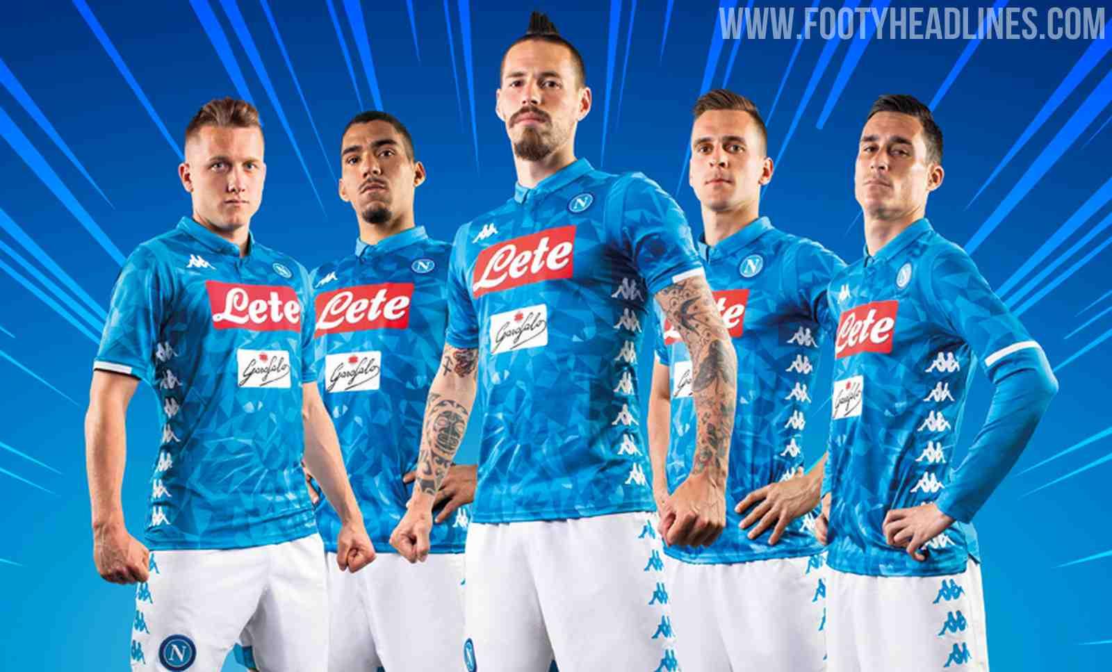 9bc7e1f88b8 Insane  Napoli 18-19 Home   Goalkeeper Kits Released - Footy Headlines