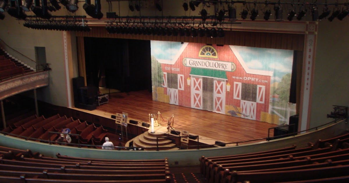 History On The Move The Grand Ole Opry