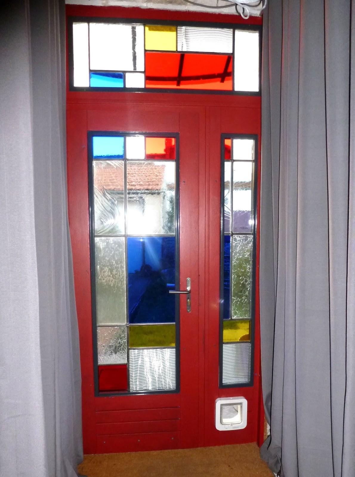 vitrail de r galerie fen tre hublot porte paravent contemporain ou de style. Black Bedroom Furniture Sets. Home Design Ideas