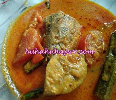 Resepi Ikan Tongkol Masak Kari.... Sedap!