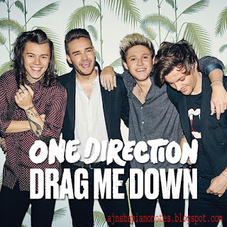 Drag Me Down One Direction Sargam Piano Notes