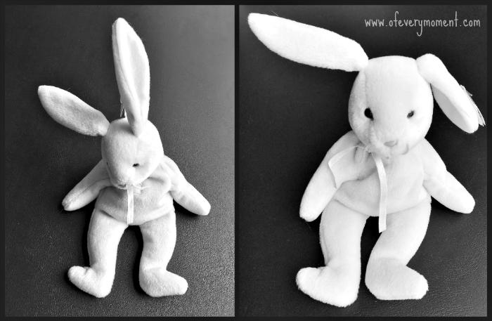 Beanie Baby bunny rabbit