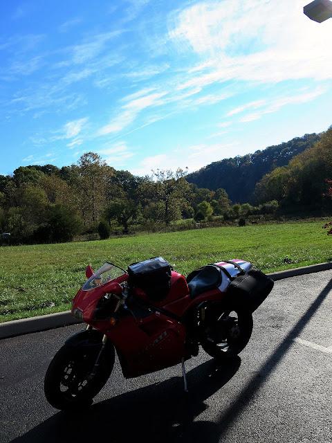 Ducati 916 Rural Virginia