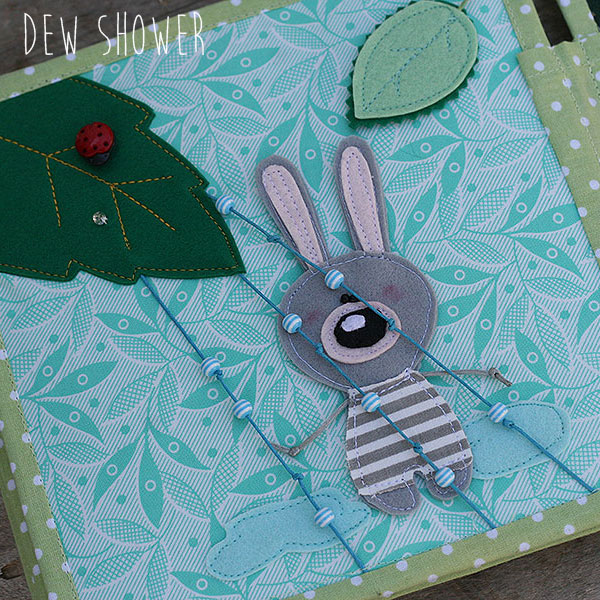 Quiet book Bunny day Shower