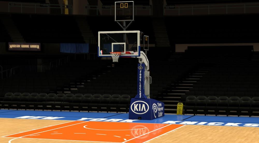 NBA 2K14 New York Knicks Court Update V2 - NBA2K.ORG