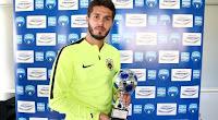Η βράβευση του Αργεντινού ποδοσφαιριστή της ΑΕΚ για το best goal της 10ης αγωνιστικής