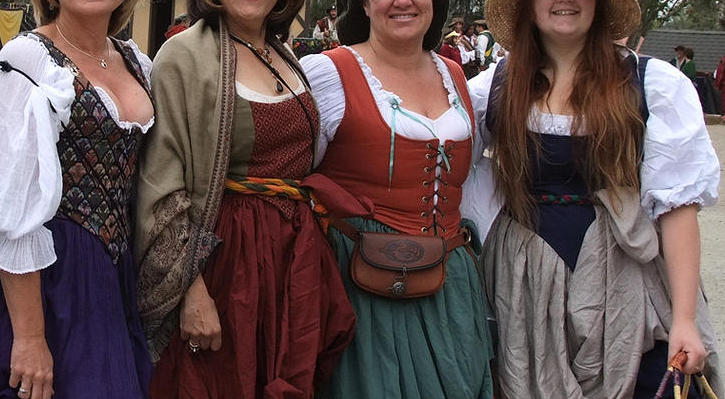 With corset wench busty remarkable