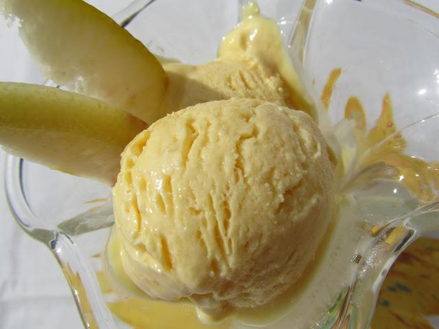 Helado de limón con Thermomix